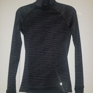 underarm fitted tunic neck active jacket